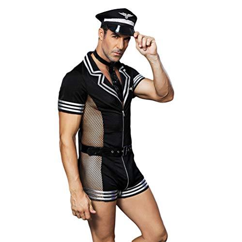 SUPVOX traje de juego de rol para hombre traje de baño tanga ropa interior aviador cosplay trajes