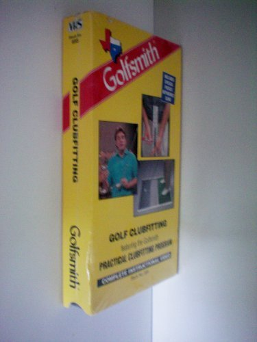 Golf Clubfitting featuring the Golfsmith Practical Clubfitting Program -- Complete Instructional Video -- Includes Special Pocket Reference Card -- VHS Tape -- as shown by VHS