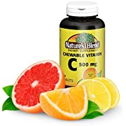 Chewable Vitamin C. Great tasting low sugar essential vitamin, does not promote tooth decay. 500mg, 60 Tablets.