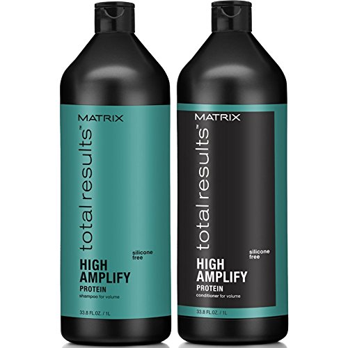 Matrix Total Results Amplify Volume Shampoo and Conditioner Liter by Vidimear