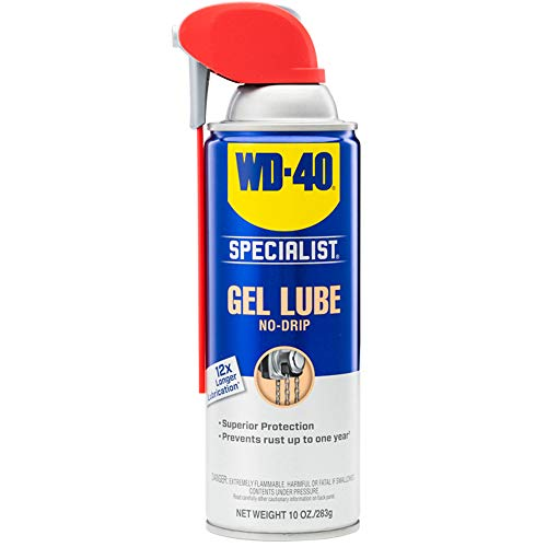 WD-40 Specialist Spray and Stay Gel Lubricant, No Drip Lubrication