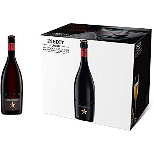 Damm Cerveza de Malta y Trigo Inedit Botella, 75cl