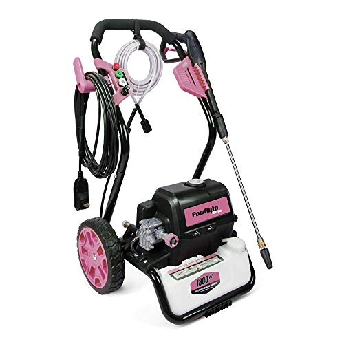 PowRyte Elite Electric Pressure Washer, Electric Power Washer with 5 Interchangeable Spray Tips,...