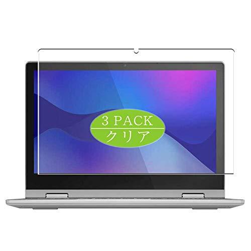 Vaxson 3 Stuck Schutzfolie kompatibel mit Lenovo IdeaPad Flex 3 11IGL05 116 Displayschutzfolie Bildschirmschutz Blasenfreies nicht Panzerglas