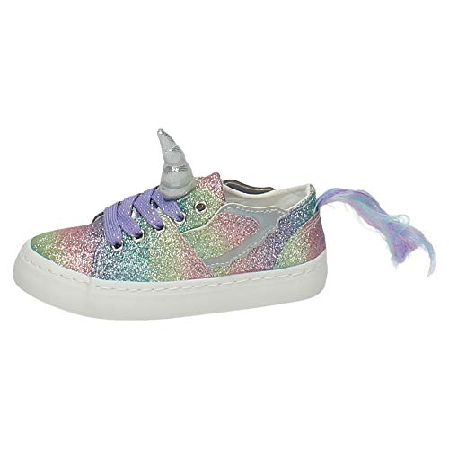 Zapatillas Unicornio Conguitos Glitter 25