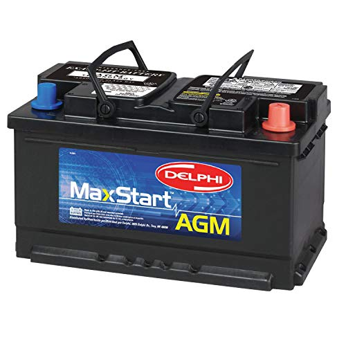 Delphi BU9094R MaxStart AGM Premium Automotive Battery, Group Size 94R (Reverse Terminal)