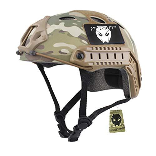 ATAIRSOFT Armee Militär SWAT Kampf PJ Stil schnell Helm für CQB Airsoft Paintball Schießen MC