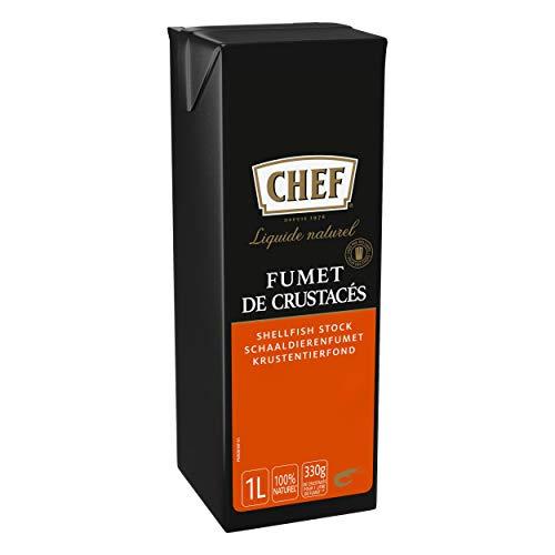 Nestlé Professionnal Chef Fumet De Crustacés Naturel Liquide Fonds - Aides Culinaires, Sauces - Brique De 1l Prêt-À-Lemploi 7613035961524