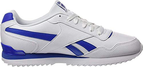Reebok Herren Royal Glide Rplclp Fitnessschuhe, Weiß (White/Vital Blue 000), 39 EU
