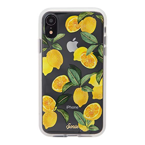 Sonix Lemon Zest Case for iPhone XR Women's Protective Clear Case for Apple iPhone XR