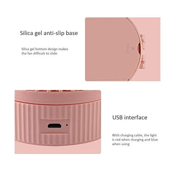 CXDDD-Mini-Tipo-Colgante-Ventilador-Ventilador-USB-porttil-extrable-Flexible-Halter-Mini-Ventilador-Recargable-Enfriador-de-Aire-Ventilador-de-Viento-77-56cm