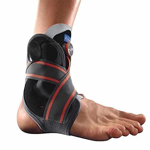 Cavigliera dii Stabilizzazione con sistema di chiusura Boa Thuasne Sport - Nero/Grigio/Arancio - Taglia M
