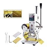 Máquina de Estampado en Caliente Máquina de Estampado en Relieve Máquina de Bronceado que Arruga Impresora de PVC de Cuero con Hot Stamping Papel 5x7cm/ 8x10cm/10x13cm