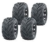 Set 4 WANDA ATV Tires 19X7-8 19x7x8 & 18X9.5-8 18X9.5X8 4PR