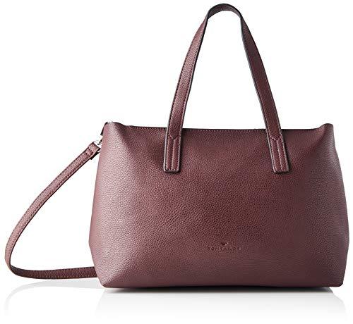 TOM TAILOR Shopper Damen, Rot, Marla, 34x12x21 cm, TOM TAILOR, Handtasche, Umhängetasche