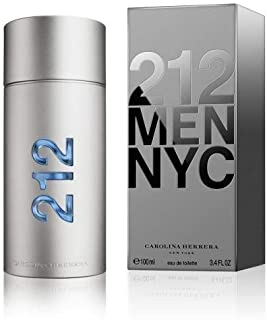212 MEN NYC by Carolina Herrera 3.3 Ounce / 100 ml Eau de Toilette Men Cologne Spray