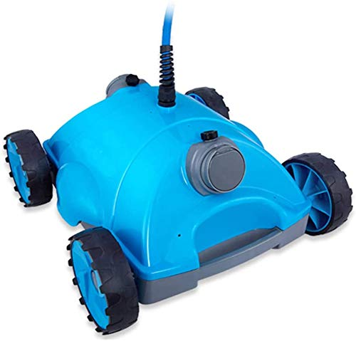 Best Buy! AHELT-J Automatic Robotic Pool Cleaner Suction Vacuum Pool-Cleaning Range 200m².