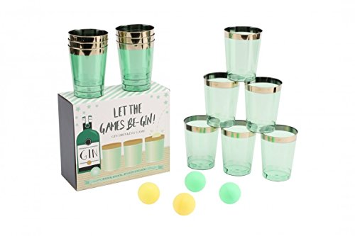 Let The Games Be-Gin Ping Pong Gin Party Drinking Game
