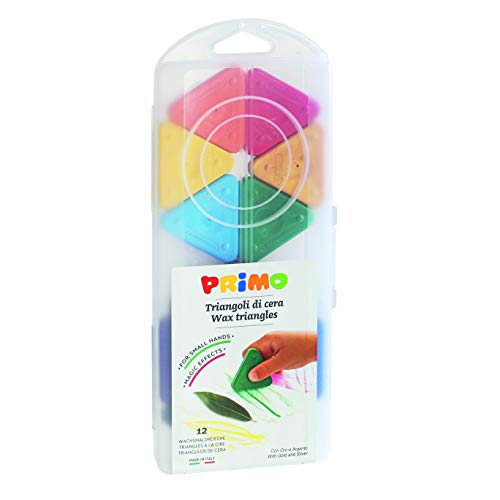 PRIMO P073TRI12AP triangolari pastelli a Cera ( Pezzi)