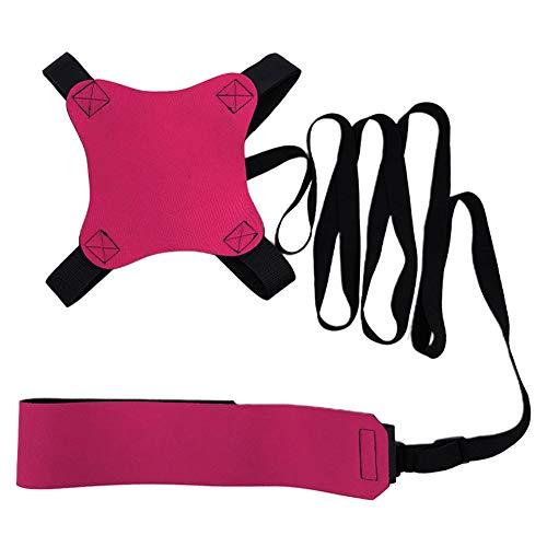 Volleyball-Trainingsgerät, Volleyball-Trainer-Hilfe zur Verbesserung der Fähigkeiten des Armschwingen / Graben, verstellbarer Taillengurt und elastische Kordel, für Anfänger