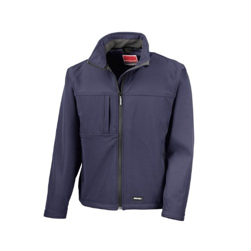 Result - Veste imperméable Coupe-Vent - Homme (XL) (Bleu Marine)