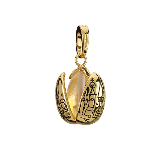 La Noble Collection Lumos Charm 17 Oeuf d'or