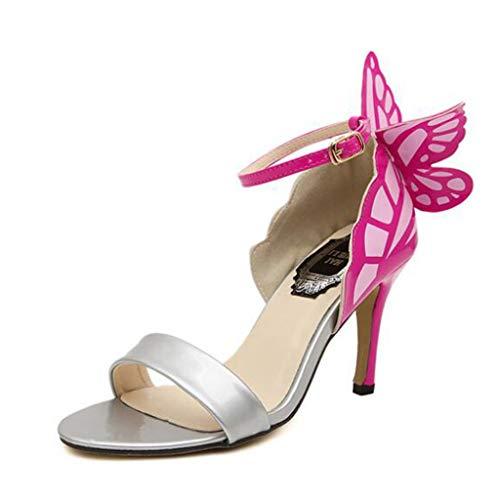 AIni Zapatos De TacóN Alto para Mujer TacóN De 8 Cm Verano...