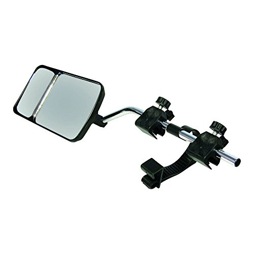 Carpoint 2414041 - Espejo retrovisor para caravana con doble foco