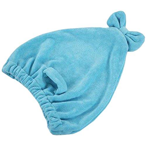 Trockenes Haar Cap Duschhaube Female trockenes Haar-Tuch Blauer See