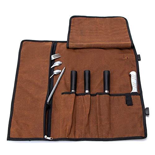 Rollo de Cuchillos del Chef, Bolsa de culinaria Enrollable d