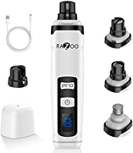 Razoo Dog Nail Grinder with Two Speed – Professional Electric Pet Nail Trimmer for Cats, Large, Medium & Small Dogs - Painless Paw Smoothing, Grooming, Trimming Tool – Rechargeable, Low Noise & Quiet…
