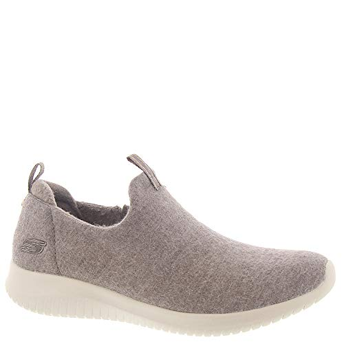 Skechers Wash-A-Wool: Ultra Flex - Little Cozy Womens Sneaker, Sand, 10