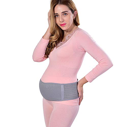 BOZEVON Cinturón de Maternidad - Embarazo Cinturón Apoyo Maternidad Abdomen Band Pregnancy Pelvic Support Belt