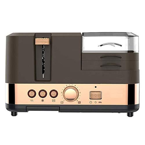 Tostadora 3-en-1 Multifunción desayuno fabricante de pan tostadora con vapor de huevo Horno eléctrico con diseño con estilo de recalentamiento de cancelación de descongelación Función 220V for uso dom