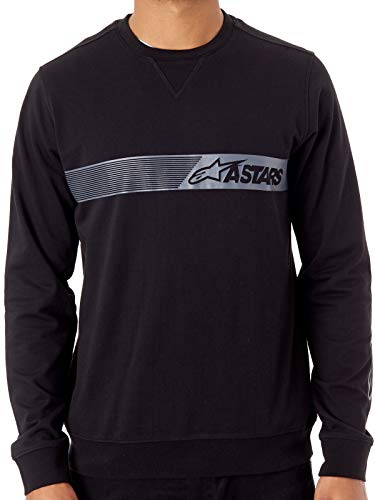 Alpinestars Suéter Lefty Negro (XL, Negro)