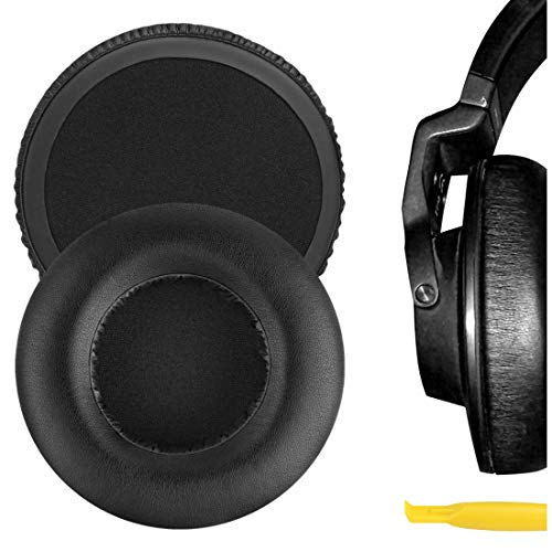 Geekria QuickFit Protein Leather Ear Pads for ÂKG K550, K551, K553 MKII, Headphones, Replacement...