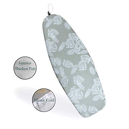 Duwee 45x127cm Advanced Exquisite Comfortabele Strijkplank Cover Hittebestendige Dikke Mooie Makkelijk schoon te maken Cover voor Strijkplank, Uniek Aantrekkingsmechanisme Elastisch Koord