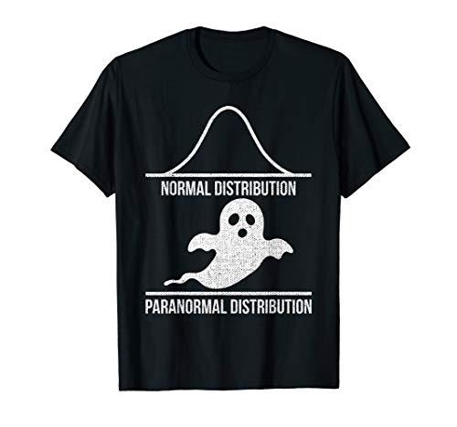 Statistiker Stochastik Mathe Normalverteilung Halloween T-Shirt