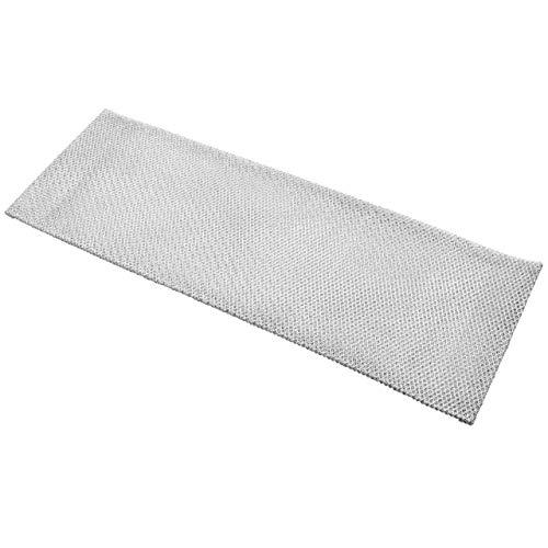 vhbw Filter Metallfettfilter, Dauerfilter 43,5 x 14,8 x 0,5 cm passend für Juno JDA 3830 E, 3930 E, 3930 S Dunstabzugshaube Metall
