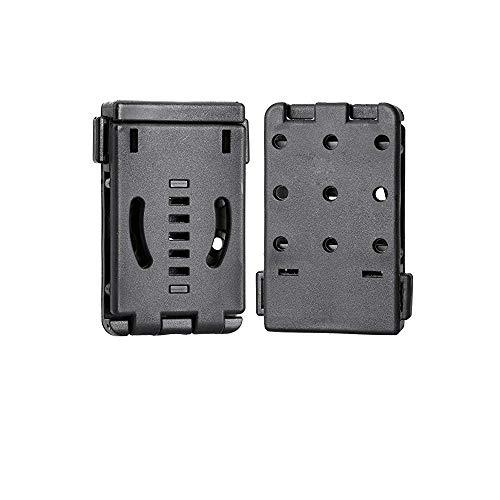 LIANA IRWIN Clip de ceinture multifonction, clip K pour scabbard lampe de poche EDC outil de taille Snap rapide (1 pièce)