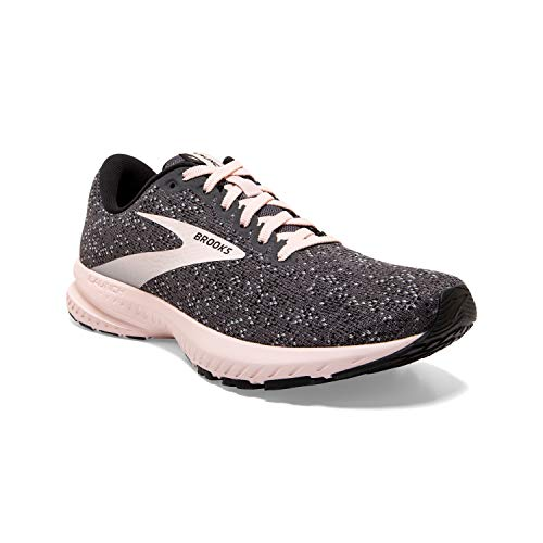 Brooks Women's Launch 7, Black/Hushed Violet, 9.5 Medium