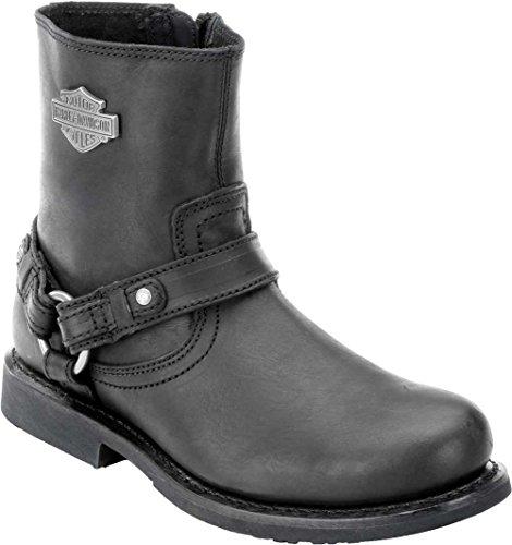 Harley-Davidson Men's Scout Motorcylce Harness Boot, Black, 9.5 M US