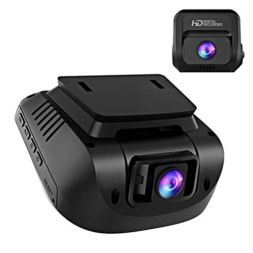 Dash Cam Front and Rear - Dual 1080P Video Camera for Cars with External GPS, 170°Wide Angle, 3 Inch Screen, HDR, Support 128GB, Driving Recorder with Motion Detection G-Sensor Loop Recording