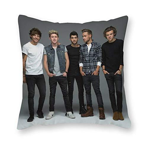 One Direction - Almohada de cojín (40 x 40 cm), diseño de arte pop