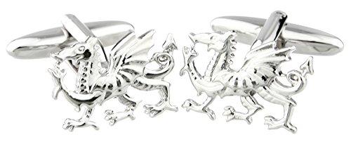 Design Boutons de Manchette Dragon