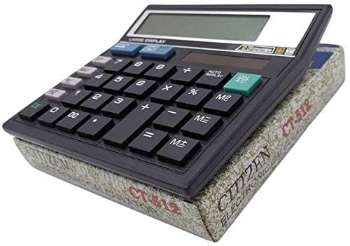 GENUINE Citizen CT-512 Electronic Calculator (Black)