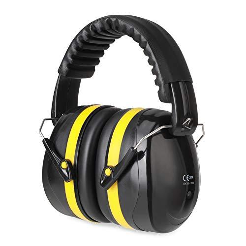 Kinder Gehörschutz, Kapselgehörschutz mit SNR 34dB,ESHOWEE Ohrenschützer Gehörschutz, Faltbar Komfortabel Gehoerschutz mit Hochwertige Geräuschblockierung