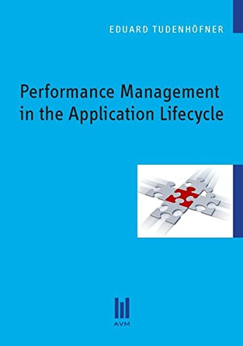 Performance Management in the Application Lifecycle (Beiträge zur Informatik)