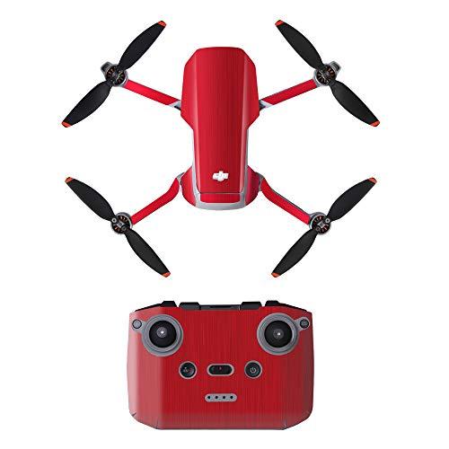 KINGWON Linghuang Adhesivo Decorativo de PVC con Control Remoto y Calcomanías para Drones para dji Mavic Mini 2 Accesorios de Bricolaje para Drones Impermeables Protección Antirrayas (Tipo 9)