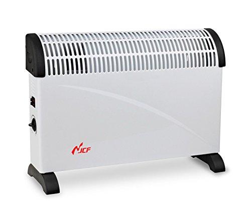 CH-2000A Termoconvettore elettrico JCF 2000 Watt tre livelli di potenza bianco. MEDIA WAVE store ®